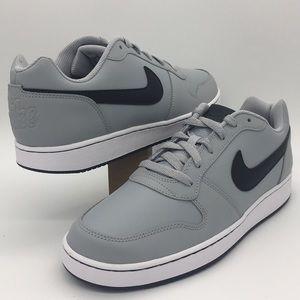Nike Ebernon Low wolf grey/black-white